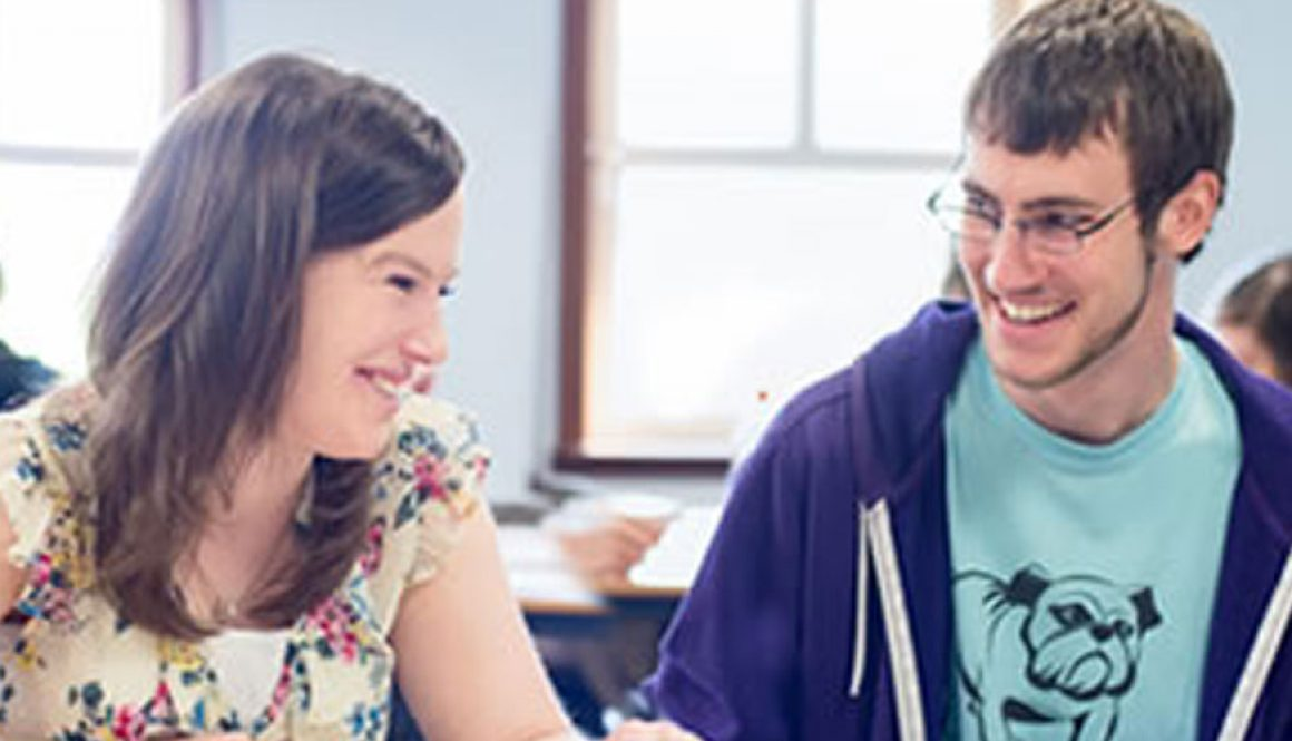 Picture of two students
